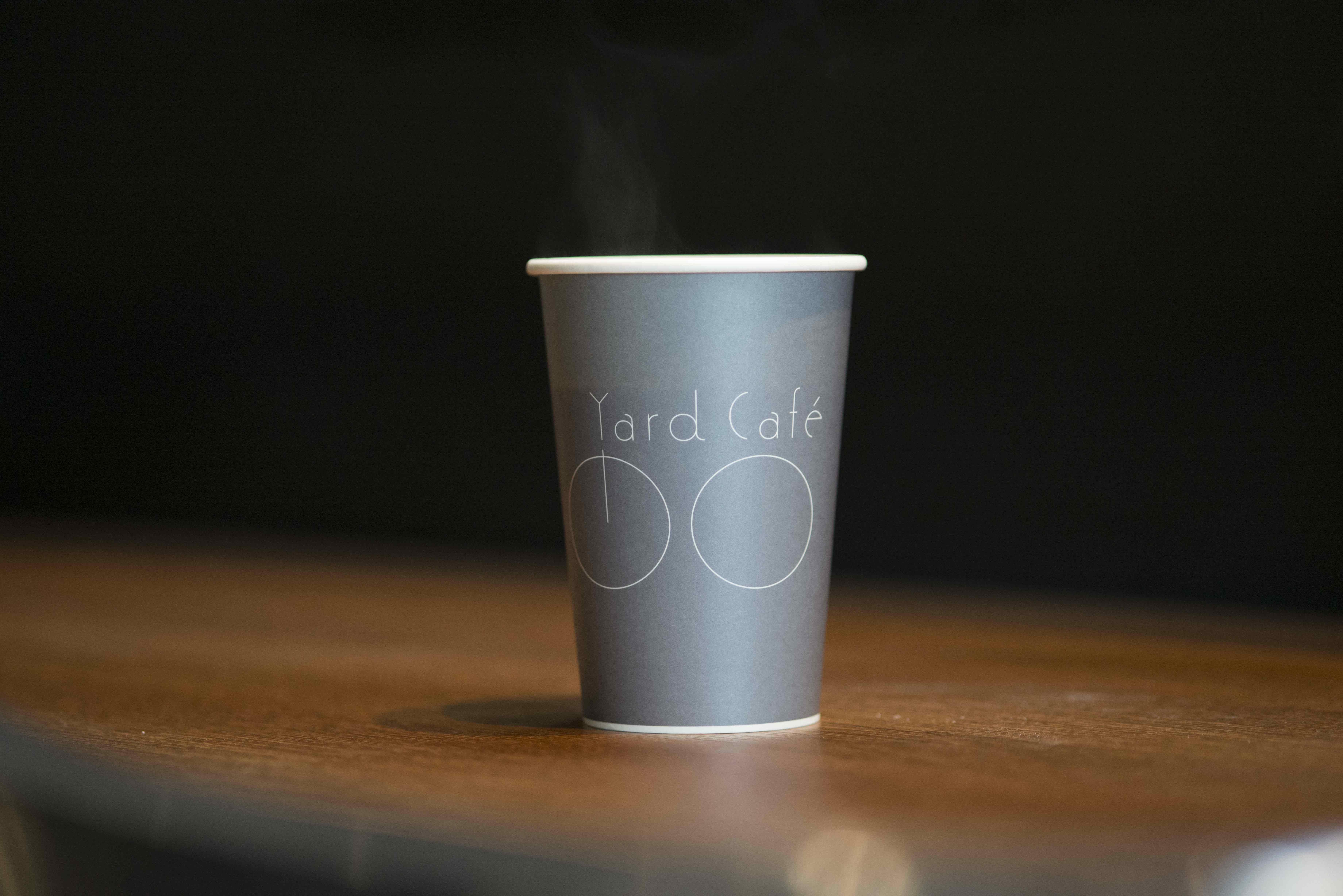 サイクリストにも好評のコーヒー