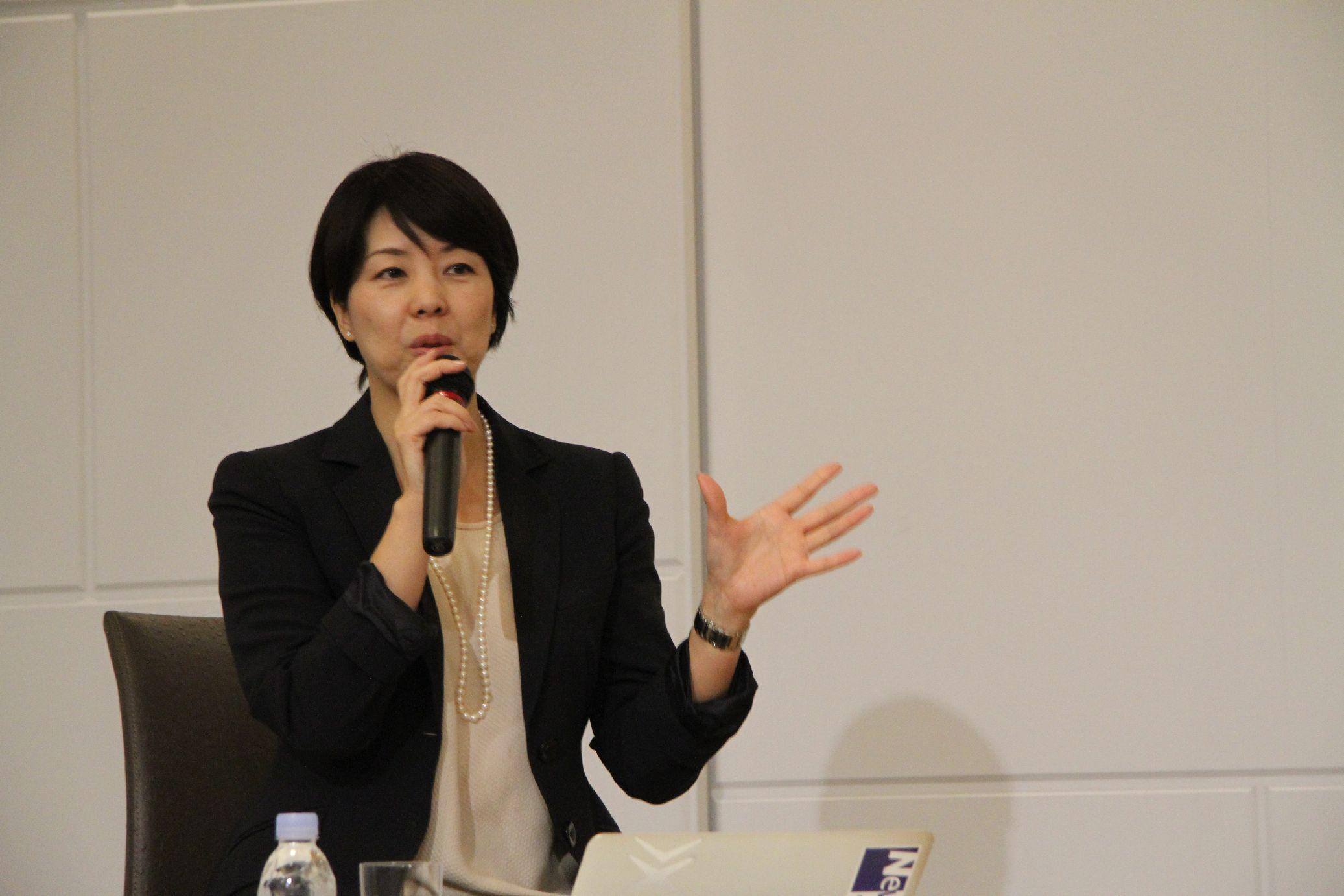 ツネイシホールディングス 末松弥奈子 代表取締役専務