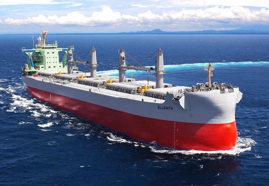 """TESS58のプレミアム船型、5万7,500トン型バルカー """"TESS58 AEROLINE"""" 1隻目を竣工・引渡 ~常石造船のフィリピンのグループ会社、ツネイシ・ヘビー・インダストリーズ・セブ"""