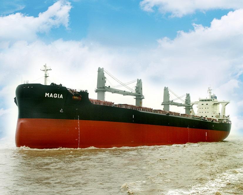 "TESS58のプレミアム船型、5万7,500トン型バルカー ""TESS58 AEROLINE"" 2隻目を竣工・引渡 ~常石造船の中国のグループ会社、常石集団(舟山)造船有限公司~"