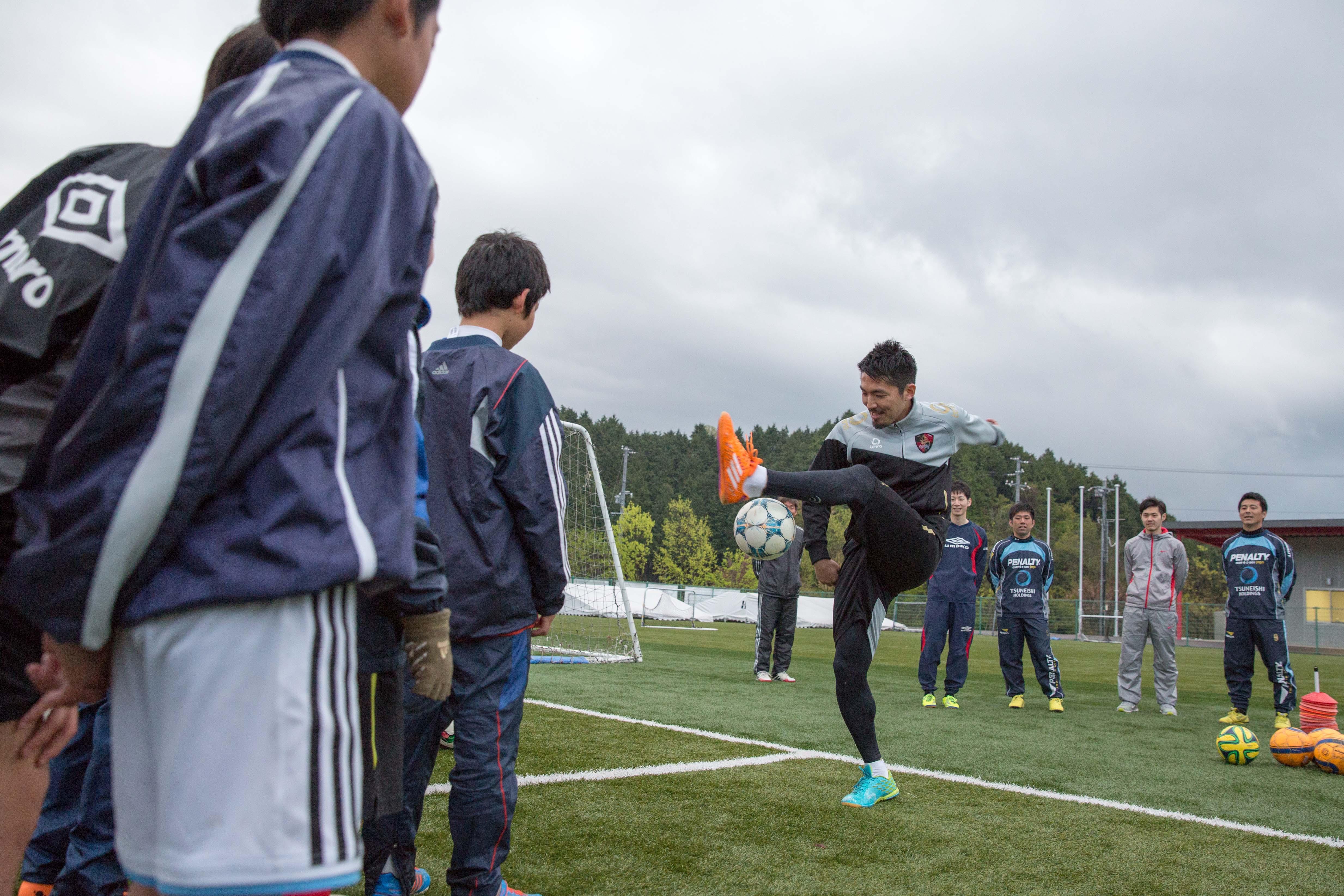 フットサル日本代表から技術を学ぶ!ツネイシ・スポーツアクト「トップアスリート招聘」イベント