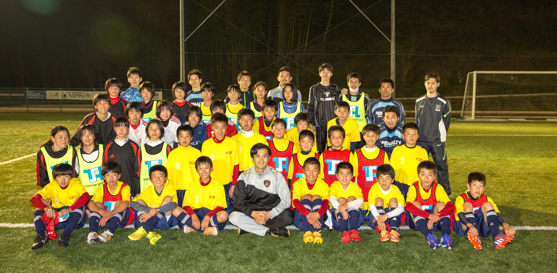 FC バイエルン ツネイシ ジュニアユースチームにサッカー指導