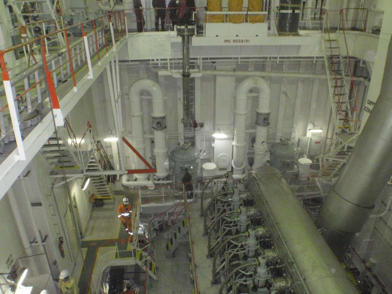 常石造船 バラスト水処理装置搭載のレトロフィット工事を初施工~ケープサイズバルクキャリアに搭載