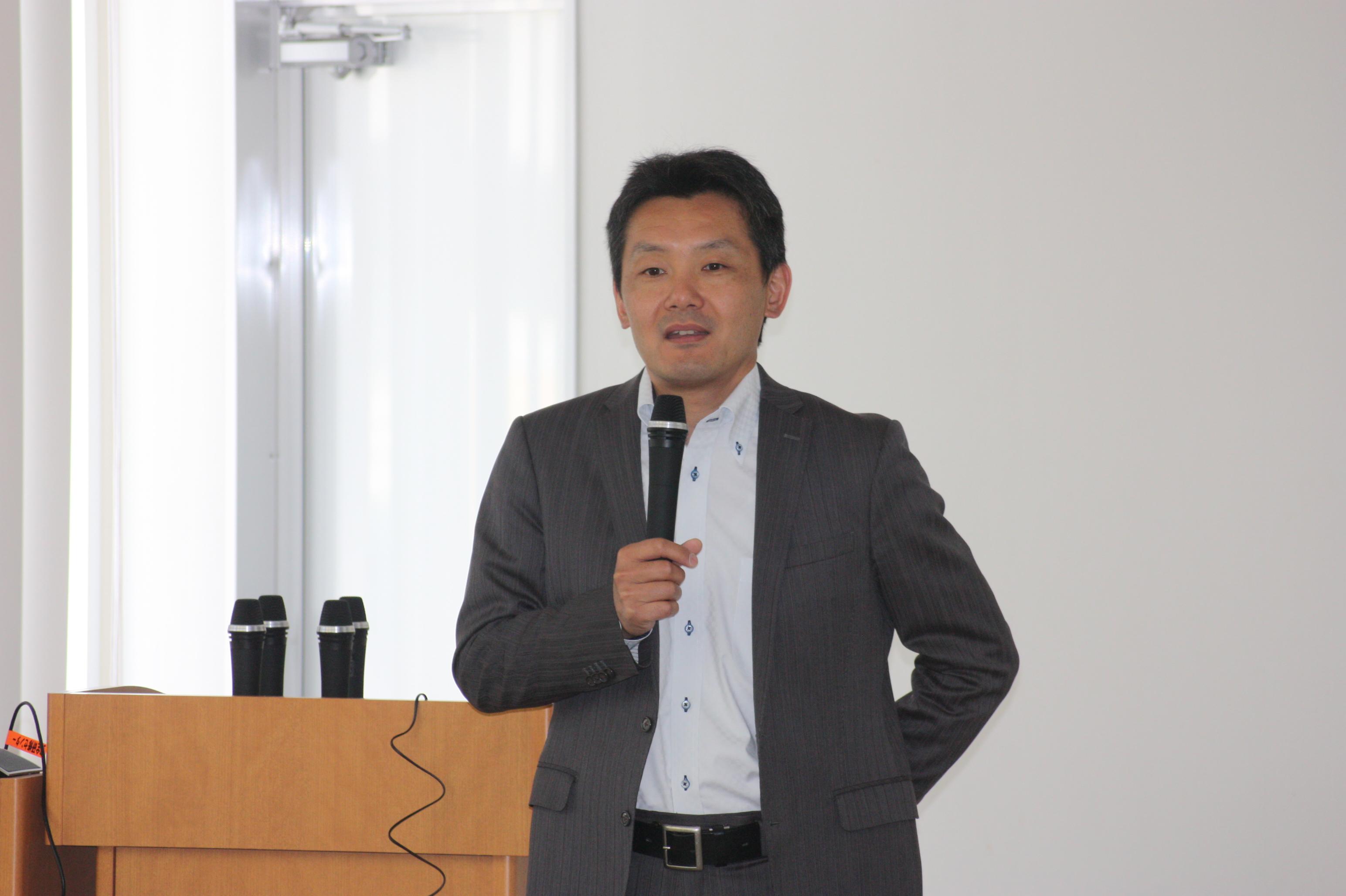 常石造船株式会社芦田琢磨取締役