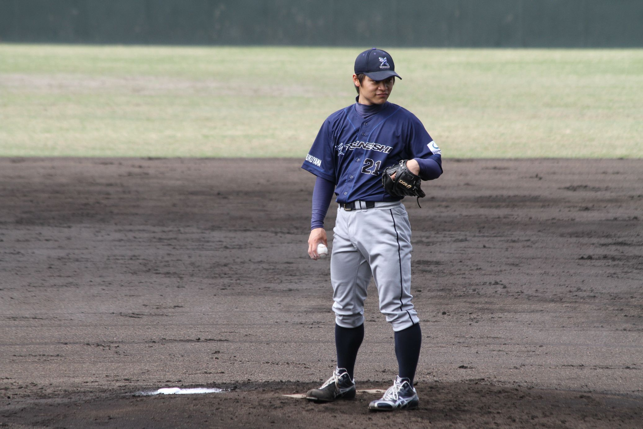 2 勝を挙げた山下晃裕投手