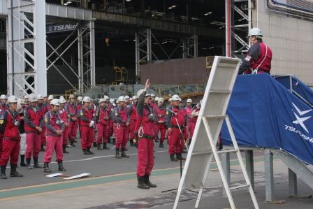 常石工場:選手宣誓