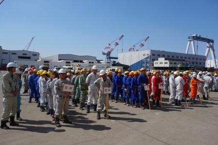 常石集団(舟山)造船有限公司:技能オリンピック開会式