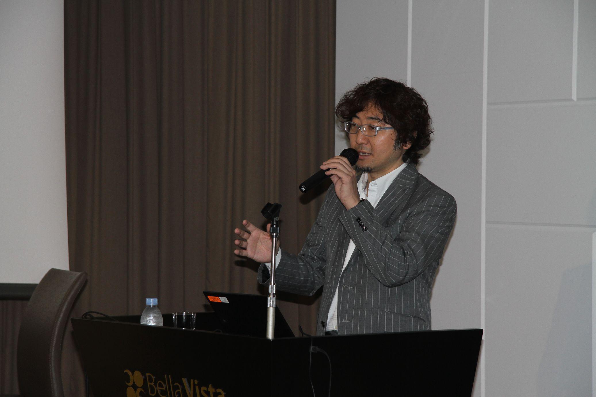 """第3回常石CSV講演会「イノベーションを生むキャリアとマネジメント~""""LINE""""が生まれる組織の作り方」をテーマにC Channelの森川氏が講演"""