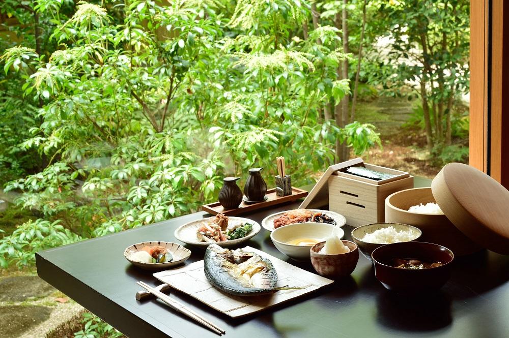 季節感溢れる美食を和の手法で(イメージ)