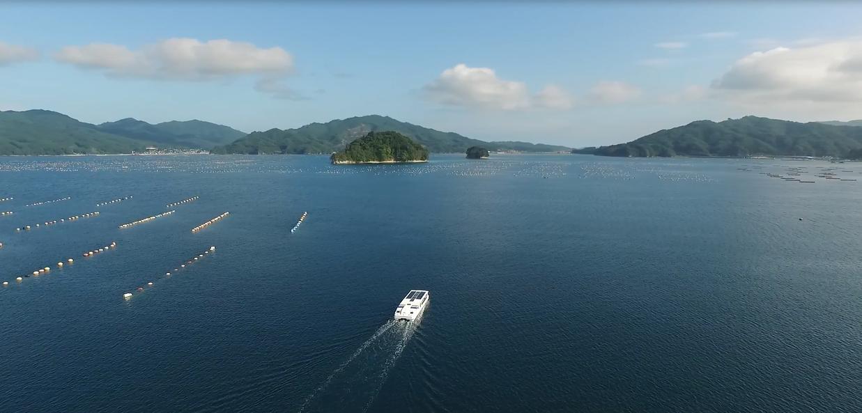 """電気推進旅客船""""あまのかわ""""で巡る「山田湾クルーズ」に1,523人が乗船、ティエフシーが協力"""