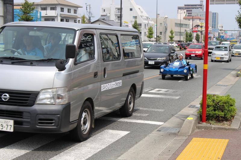 福山大学「EV四国一周プロジェクト2015」