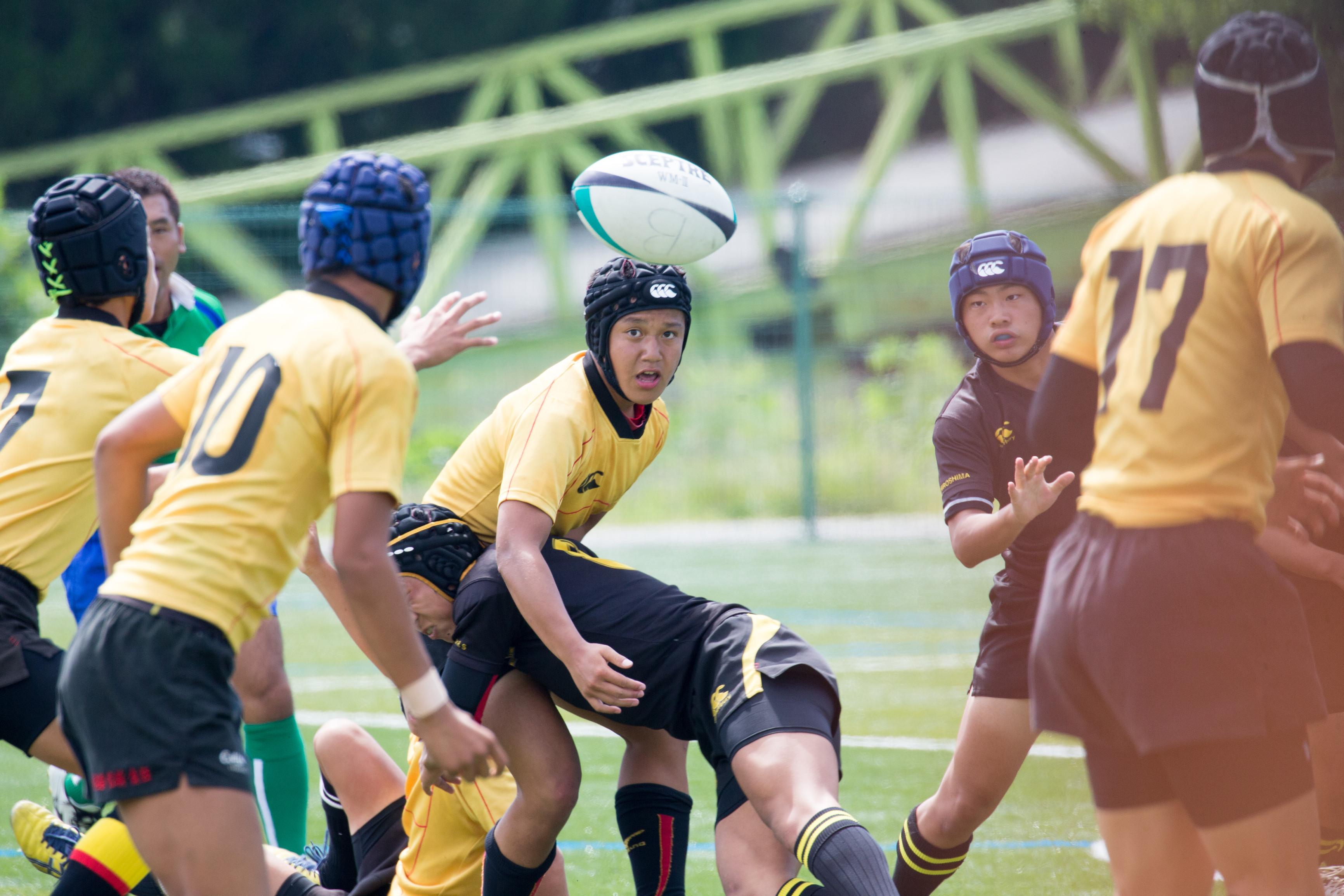 「第19回中国四国ジュニア・ラグビーフットボール大会」開催。ラグビー公式試合を初開催~ツネイシしまなみビレッジ