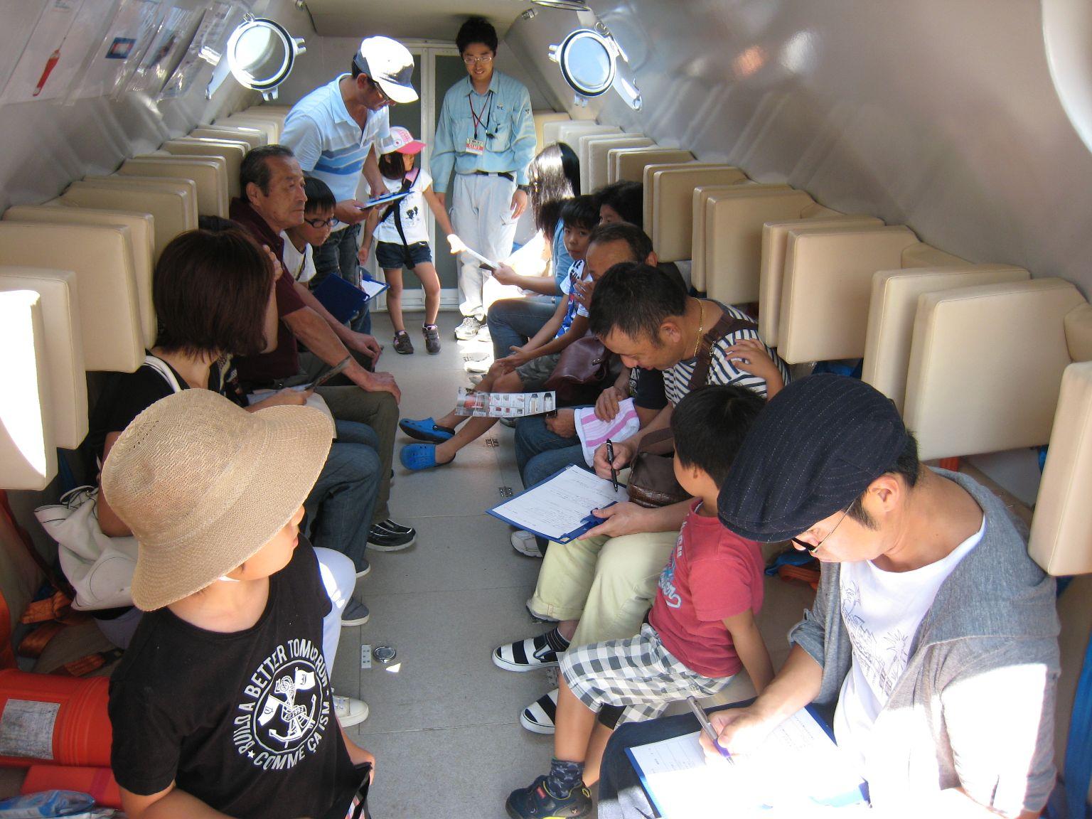 アルミ浮揚型津波シェルター「TTS80」を福山市内に展示、約700人が見学~ツネイシクラフト&ファシリティーズ