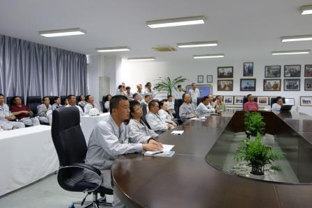 常石集団(舟山)造船有限公司 初のQC活動報告会開催