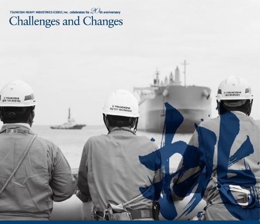 20周年記念誌『Challenges & Changes』表紙