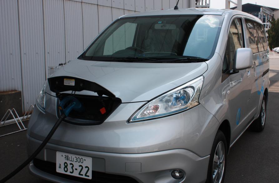 ツネイシホールディングスで電気自動車(e-NV200)を新たに導入! 工場と家庭が一体となった自給自足型の地域エネルギーコミュニティ実証へ活用