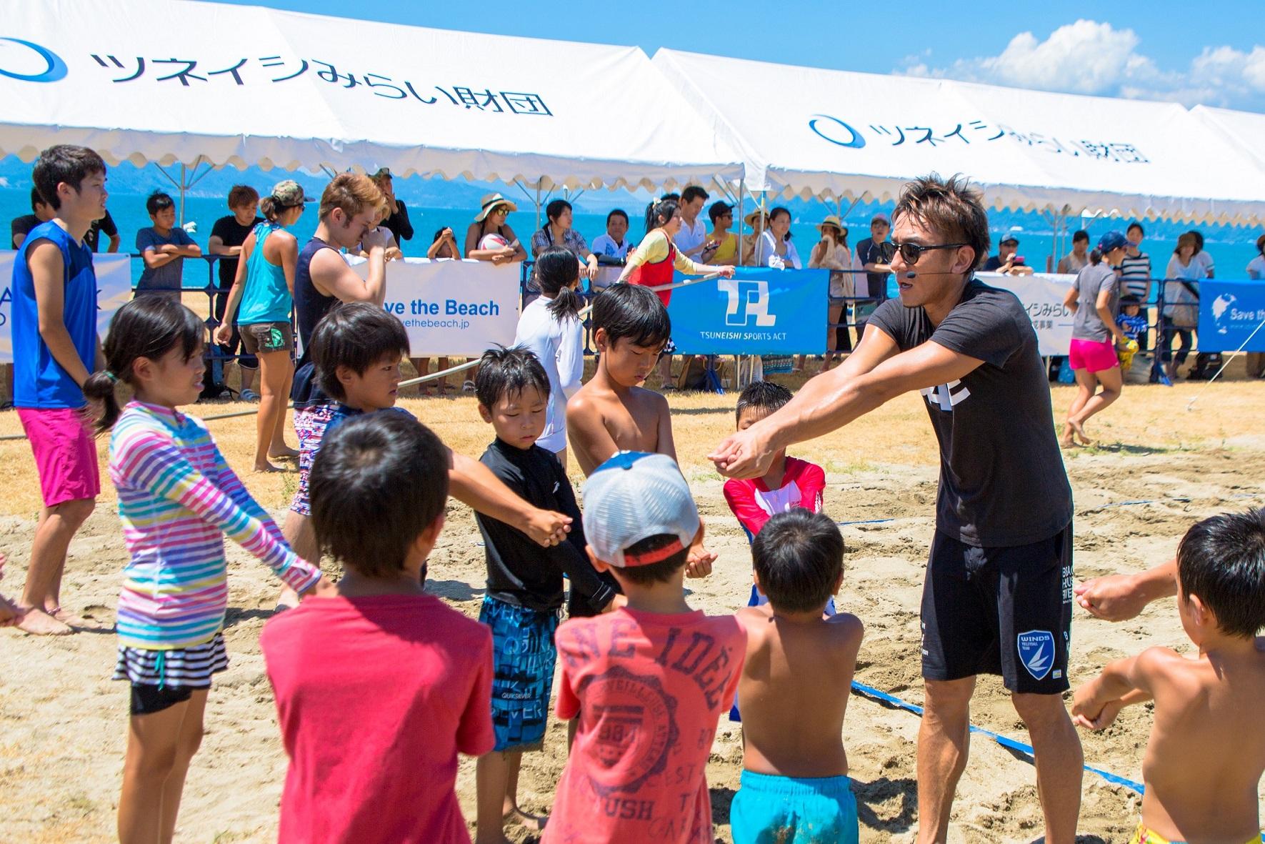 Save the Beach 2016 in シーパーク大浜が開催~青空の下でビーチバレーを満喫~