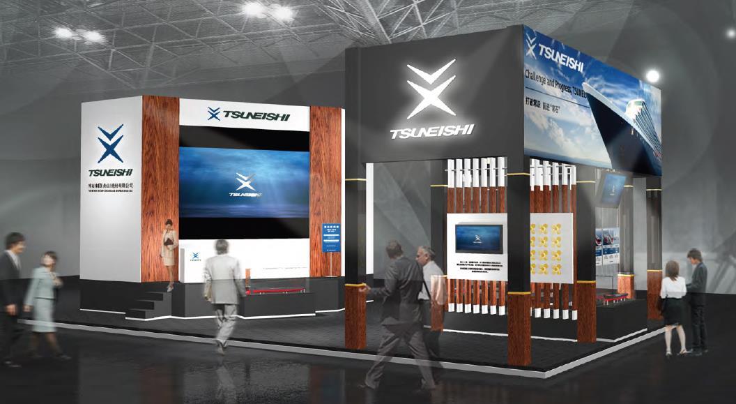 常石集団(舟山)造船有限公司が大連の国際海事展「SHIPTEC CHINA 2016」に初出展 ~新船型や高い技術力を紹介~