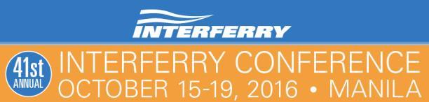 """ツネイシクラフト&ファシリティーズが国際的なフェリー団体の会議""""INTERFERRY CONFERENCE""""に初参加 ~電気推進船など最新船型を紹介~"""