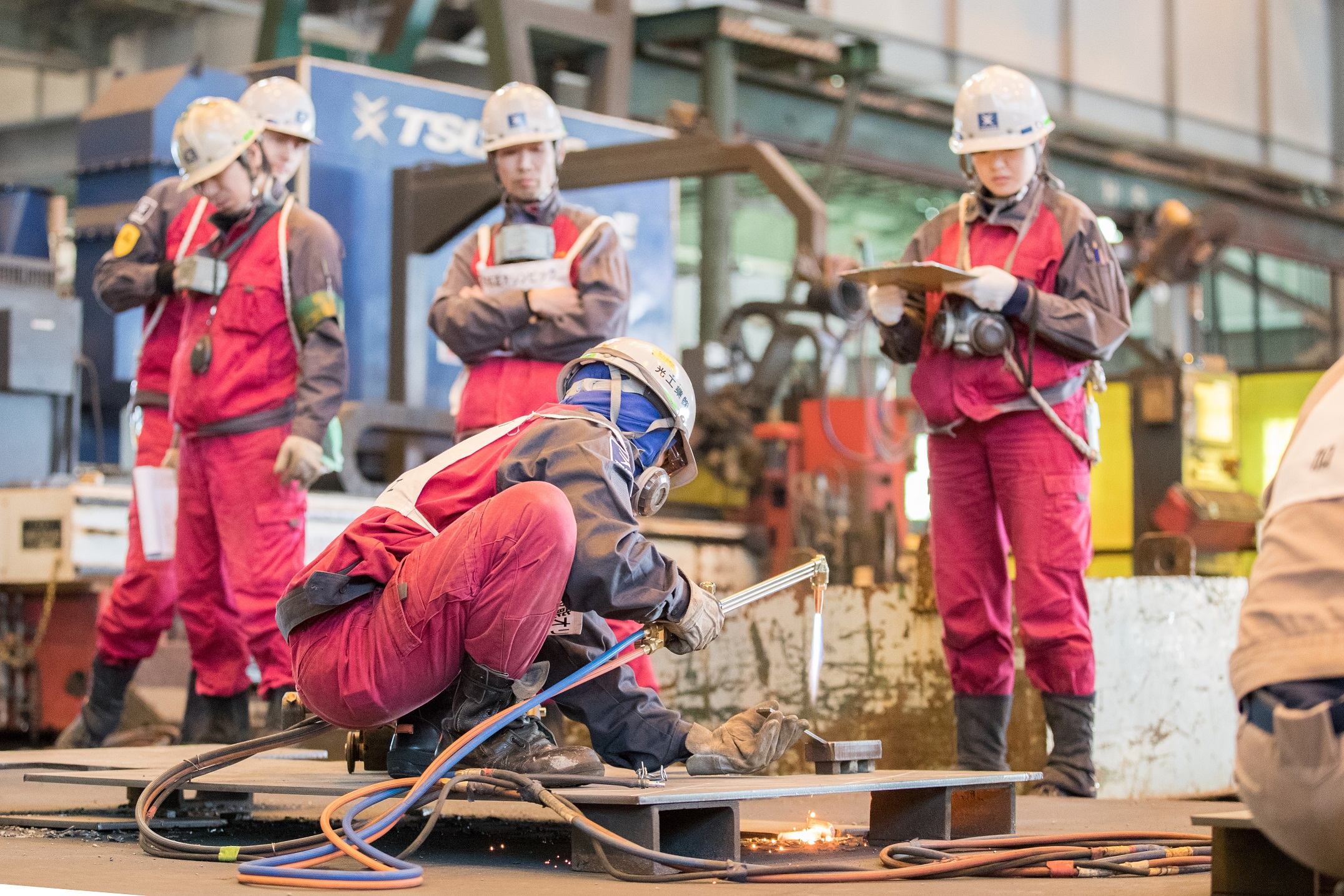常石造船 造船の職人技を競う「常石技能オリンピック」を開催