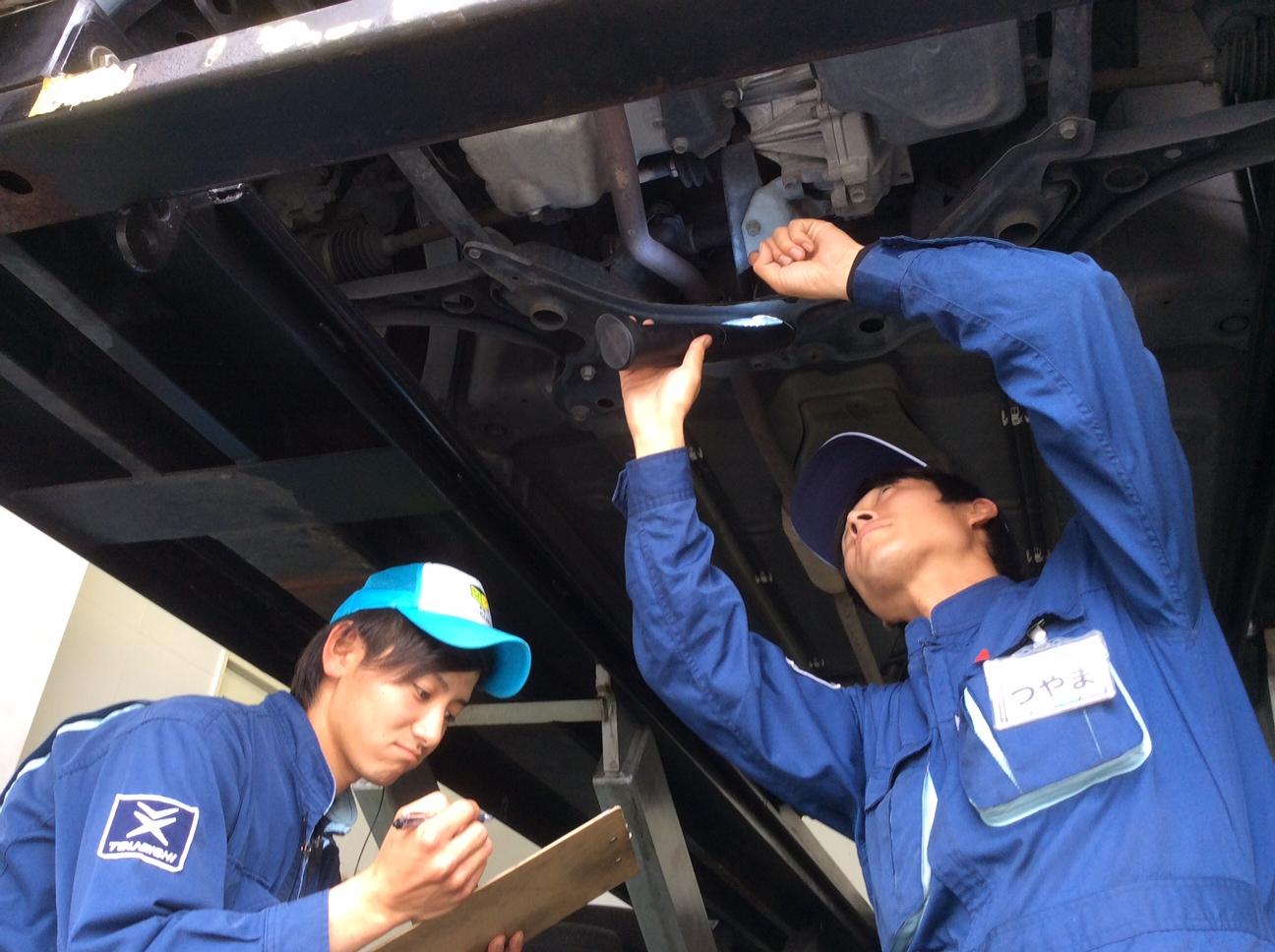 全店に在籍している自動車整備士が快適なカーライフをサポート。ツネイシCバリューズ