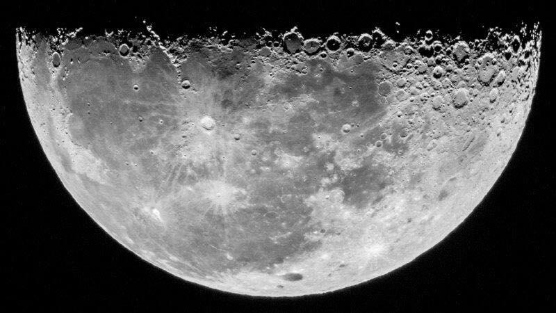 2017年2月19日撮影 下弦の月