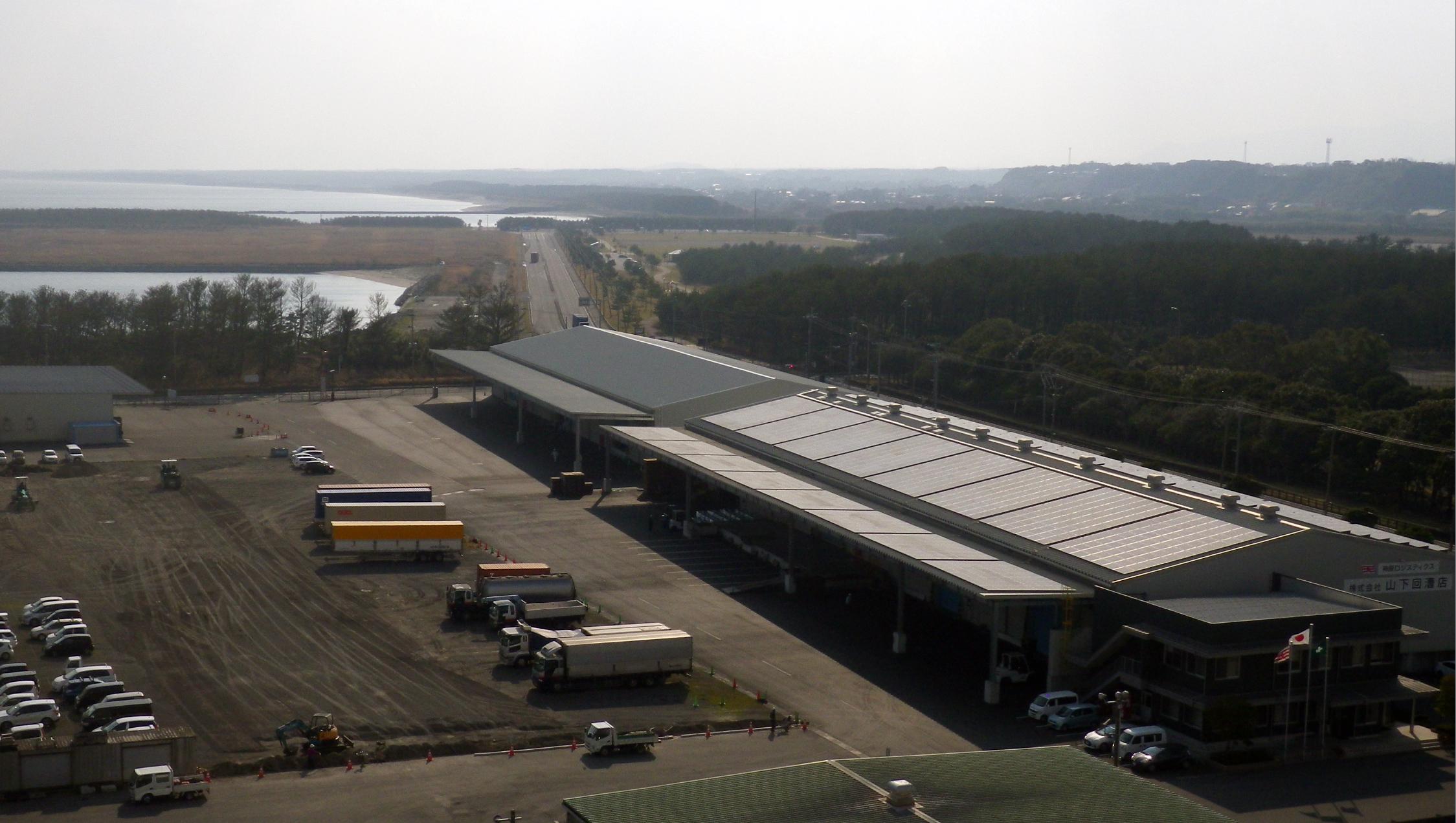 山下回漕店、山下6号倉庫を竣工 -利便性の高まる志布志港で事業を拡大-