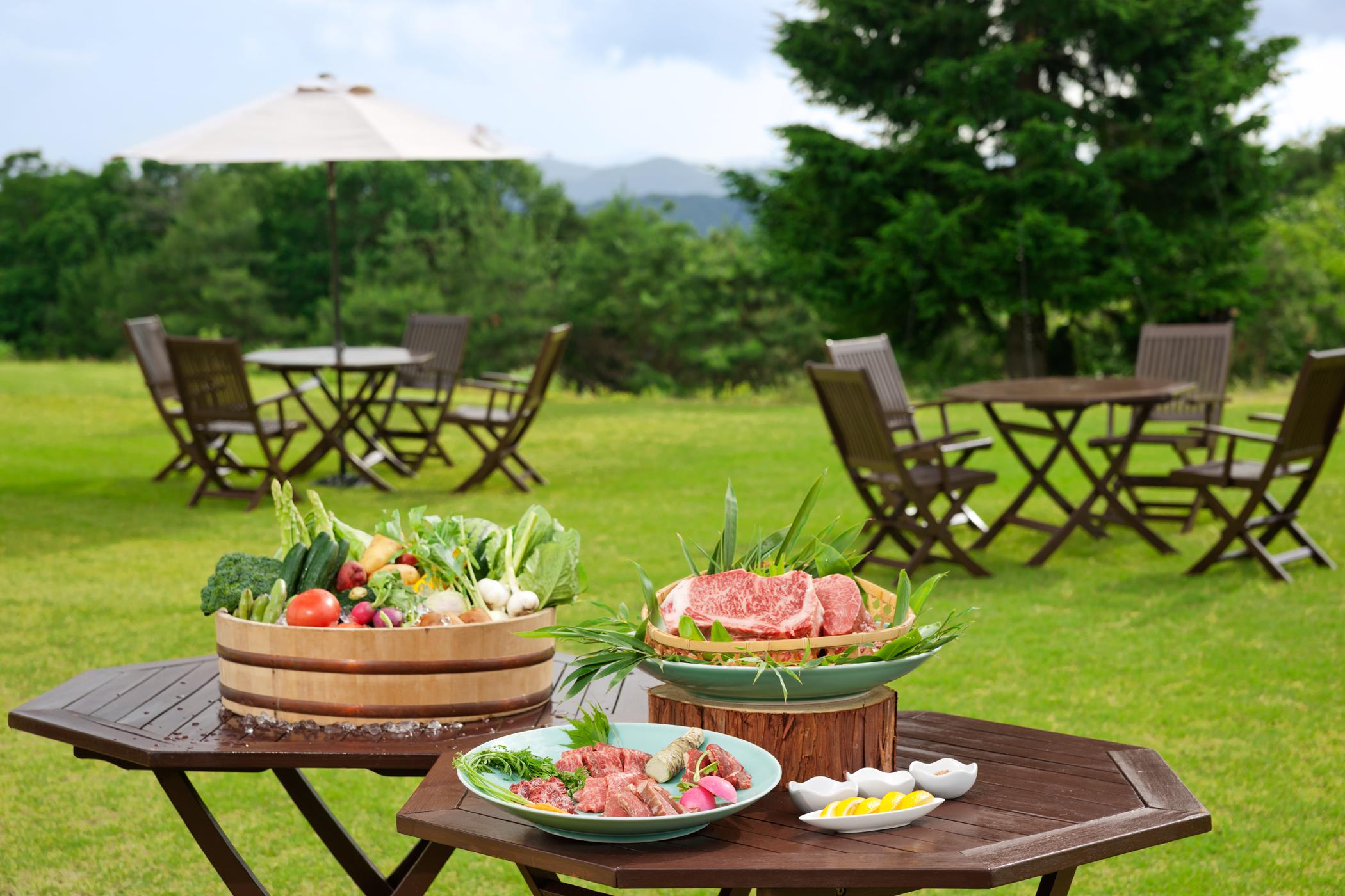 神石高原ホテル夏限定の「BBQプラン」がこの夏も登場。星降る里で過ごす夏時間
