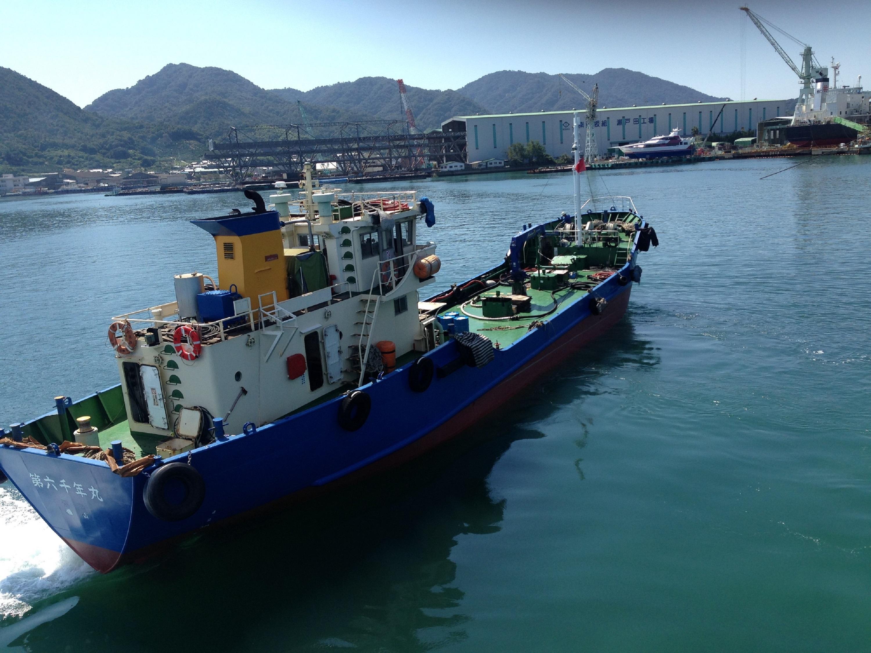 【第六千年丸】船舶用潤滑油、配送船
