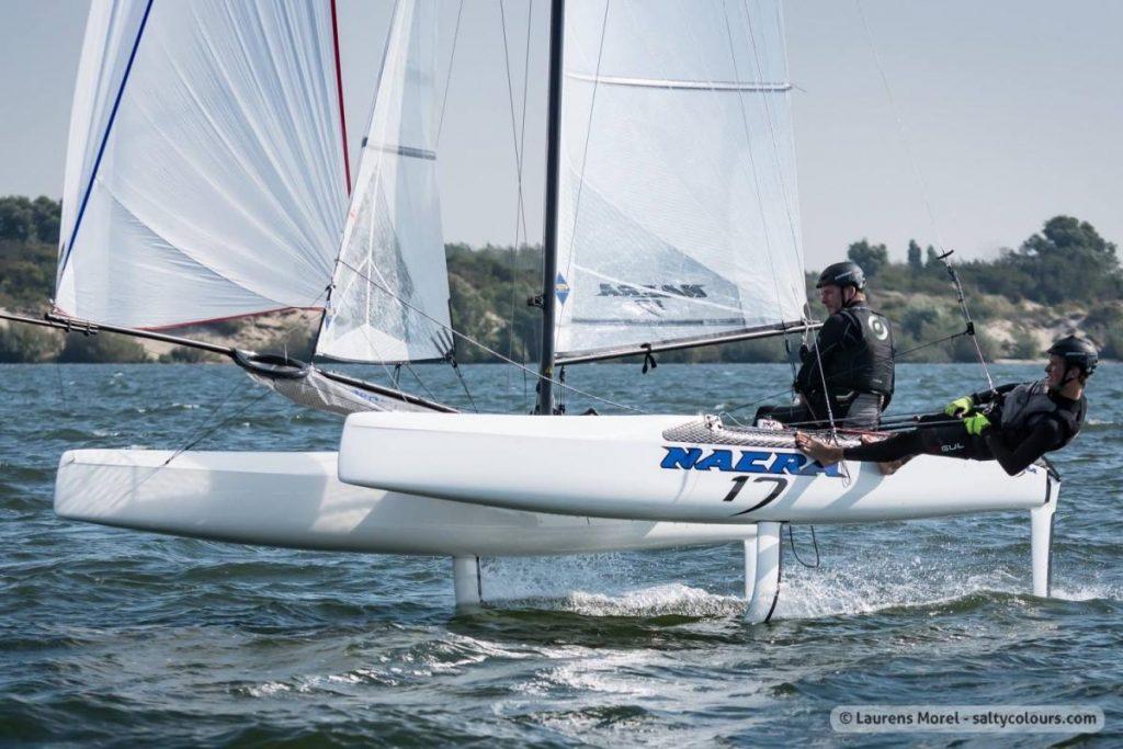 リオ五輪から採用された新艇種「ナクラ17級」