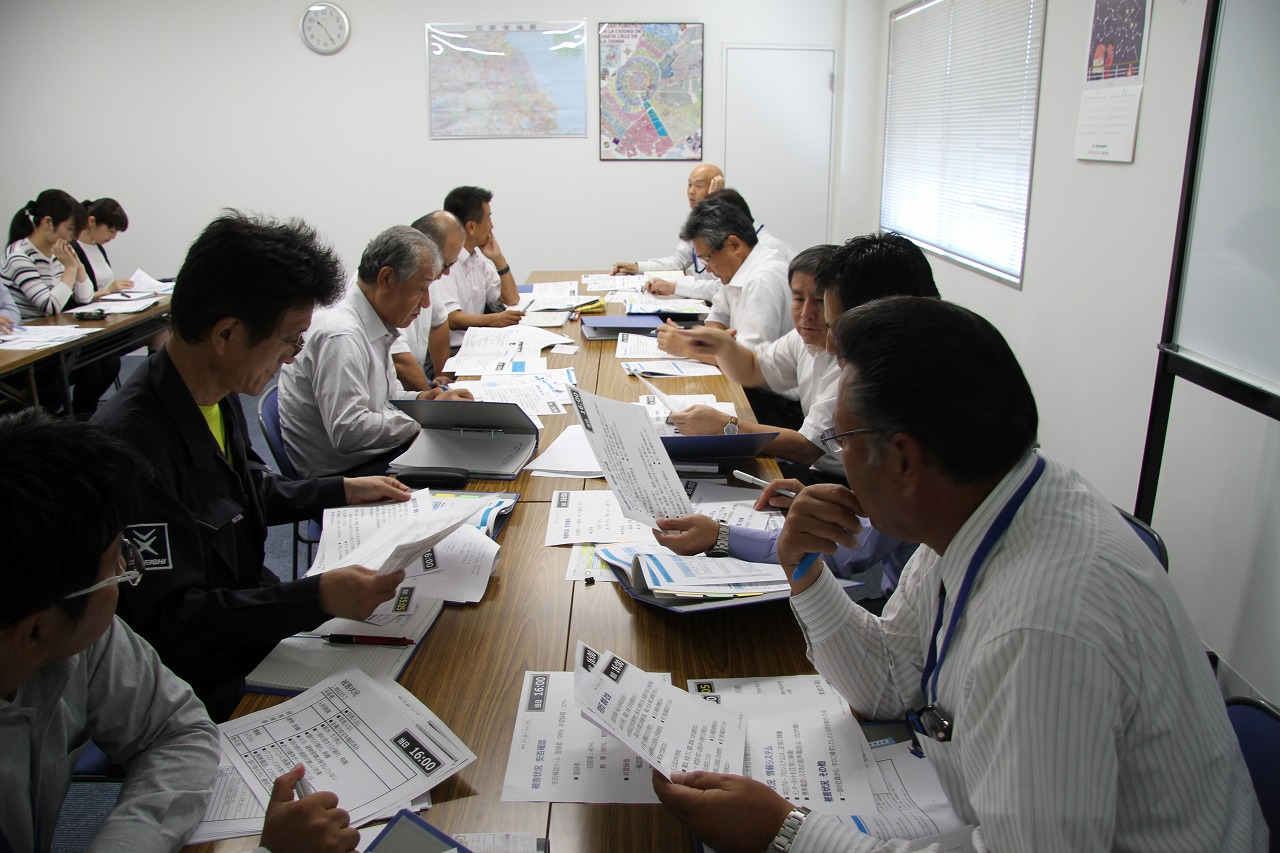 ツネイシCバリューズが福山直下の地震を想定した緊急対策本部訓練を実施事業継続に向けた初動を確認