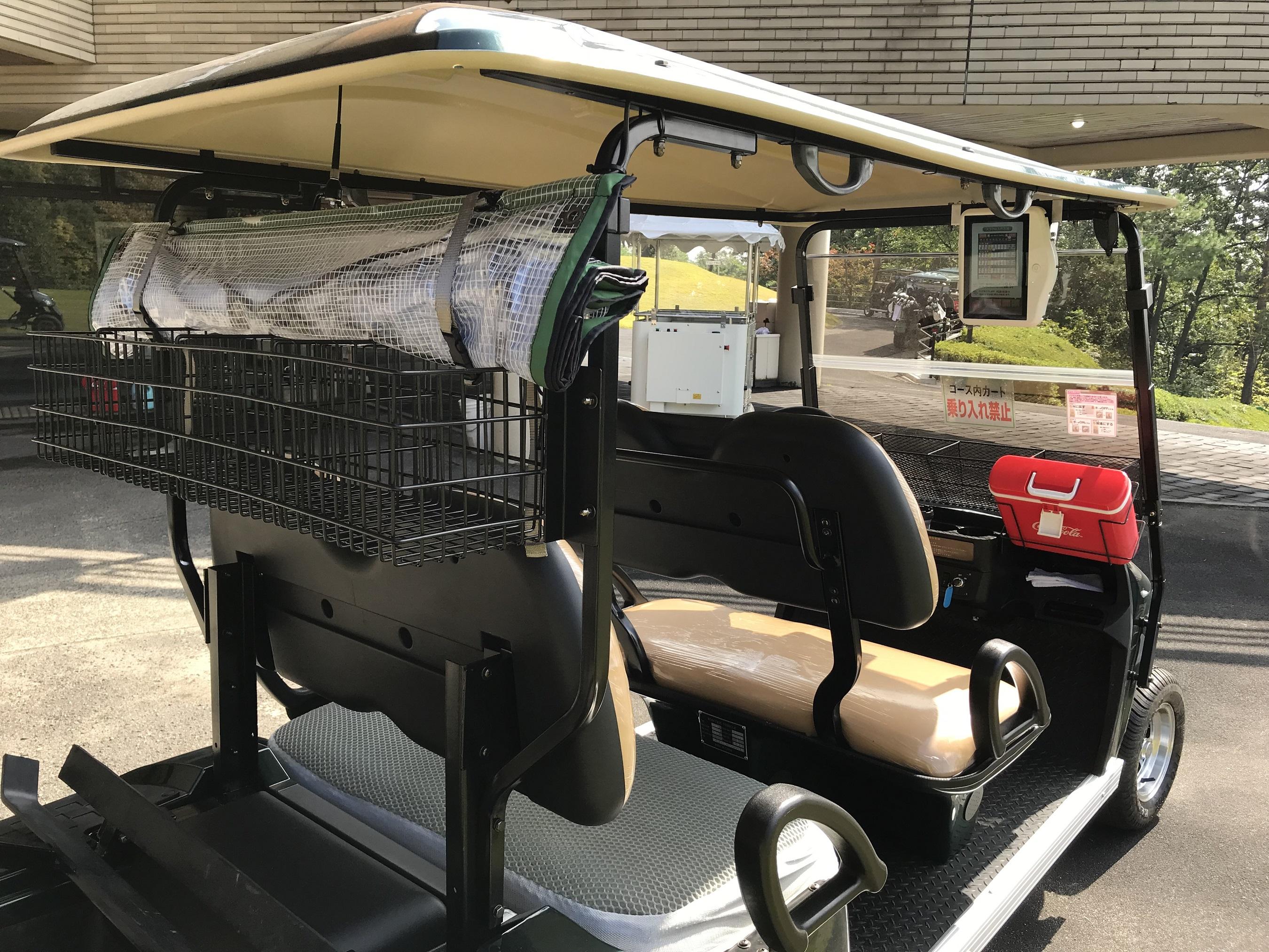 EVゴルフカート全台にゴルフナビゲーションシステム「マーシャルナビ」を搭載