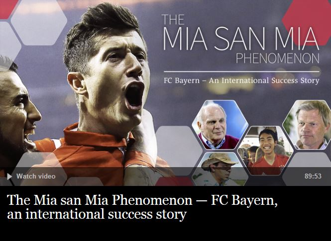The Mia san Mia Phenomenon