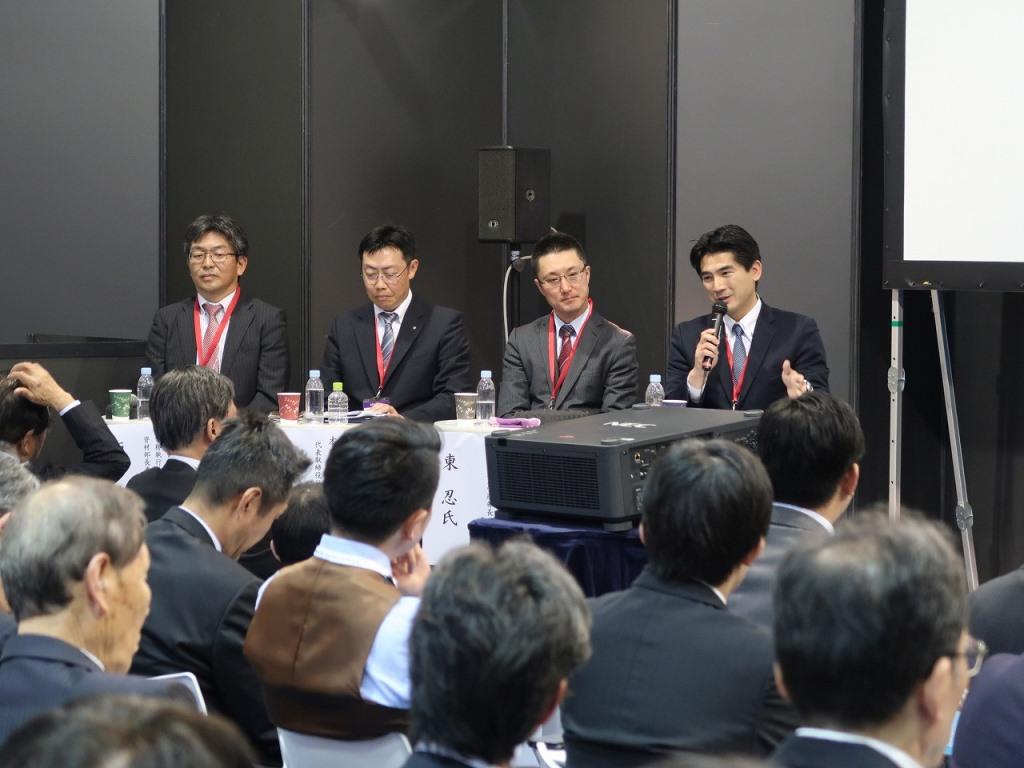 業界の未来について語る神原潤取締役社長