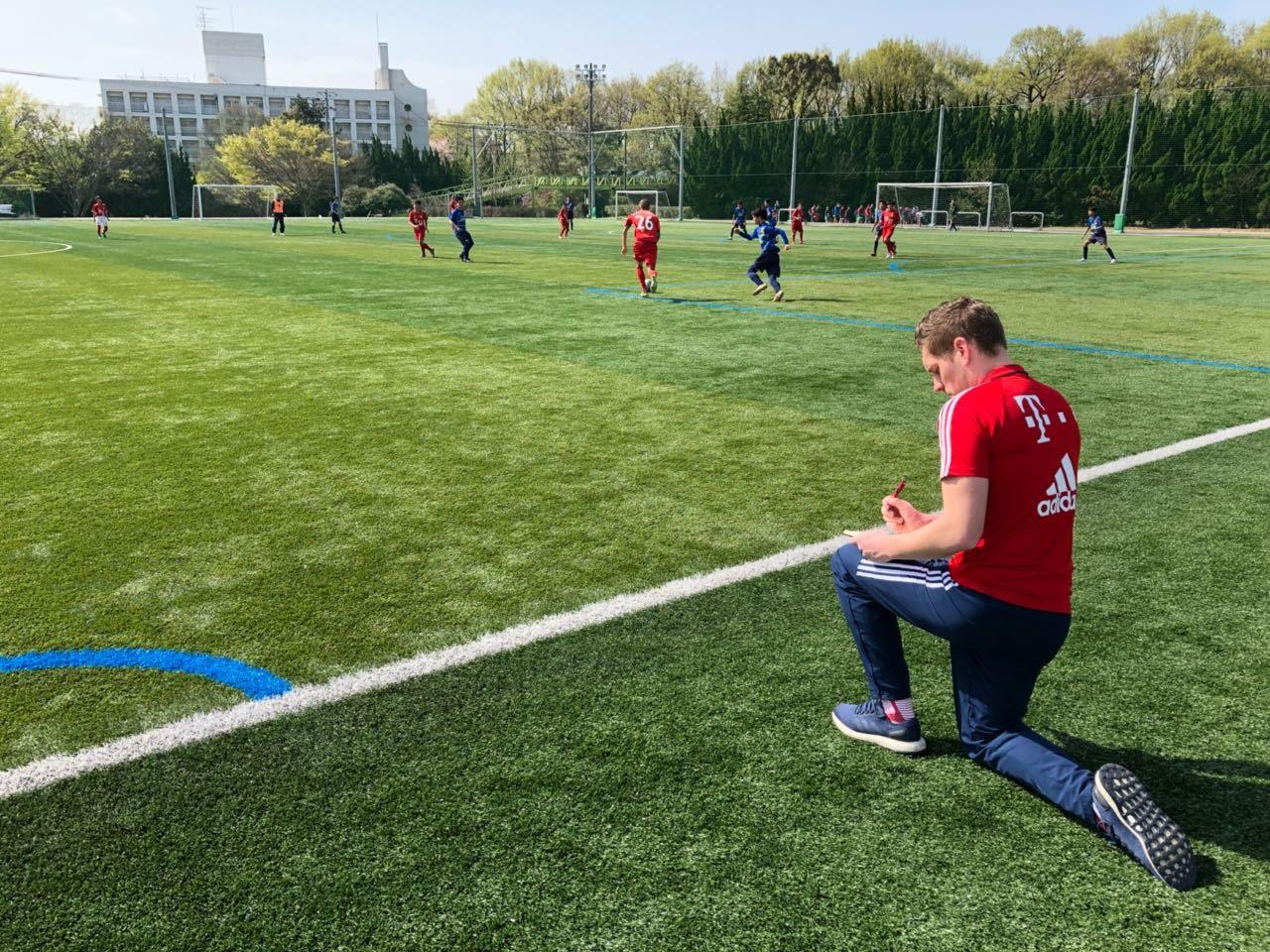 FCバイエルン・ミュンヘン国際プログラムコーチによる強化指導を実施[FC バイエルン ツネイシ]