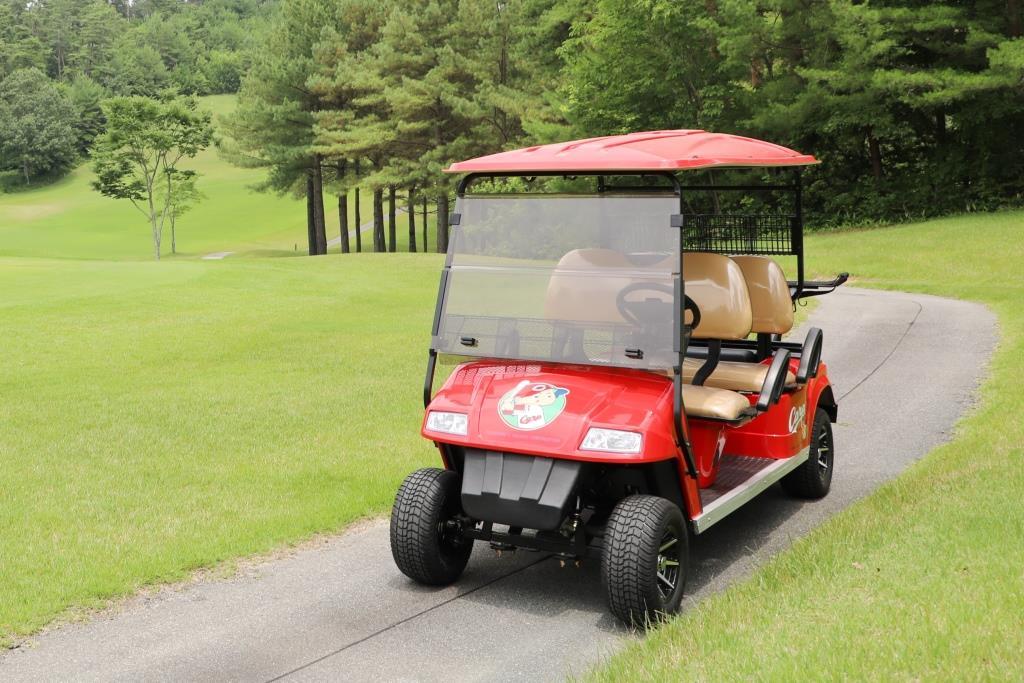 熱烈!CARP愛を込めて広島東洋カープ承認の電動ゴルフカートを販売
