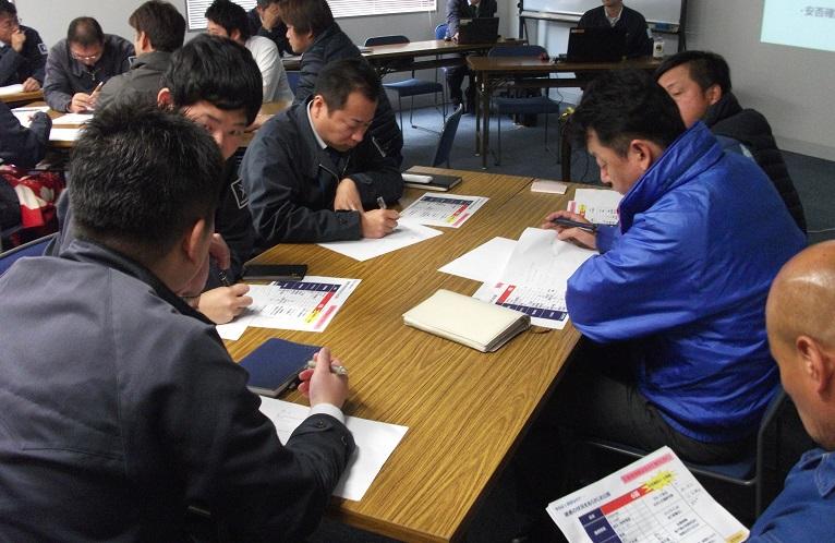 ツネイシCバリューズ 営業部が危機管理研修訓練を実施