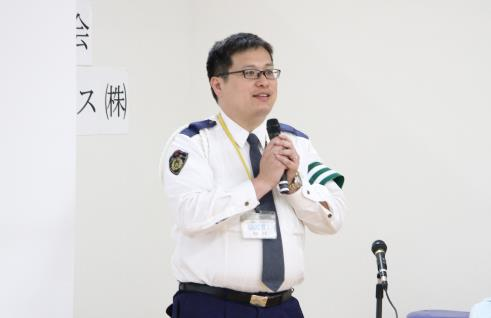 福山東警察署 交通第一課 山田警部補による講演