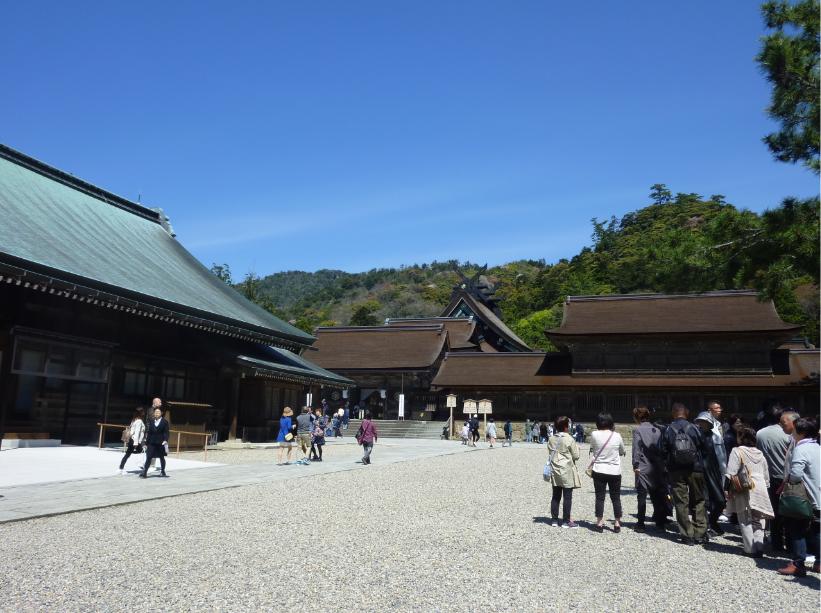 常石エンジニアリング 島根県を訪れる社員旅行を開催
