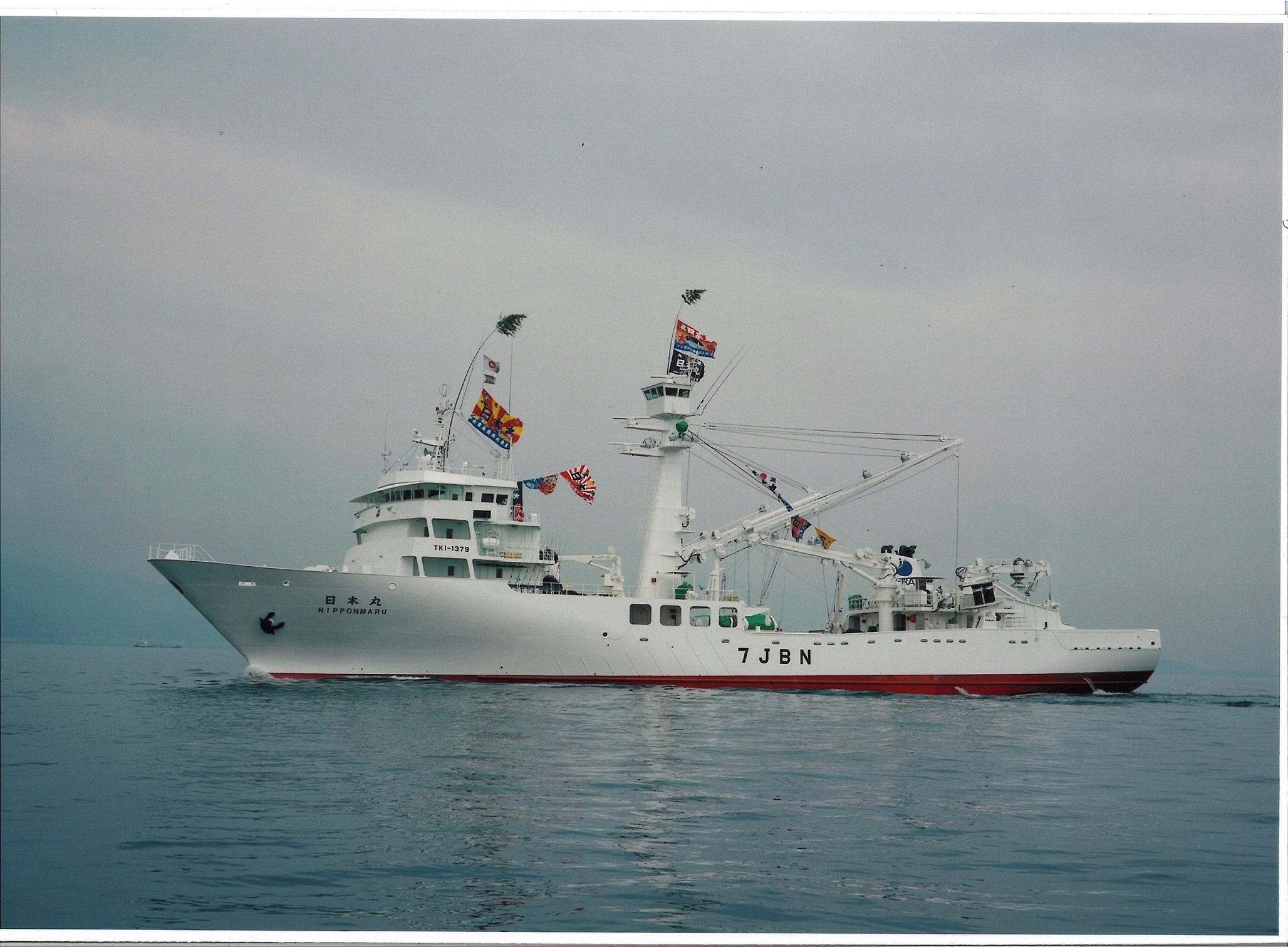"""シップオブザイヤーを初受賞した、海外まき網漁船 「3代目""""日本丸""""」"""