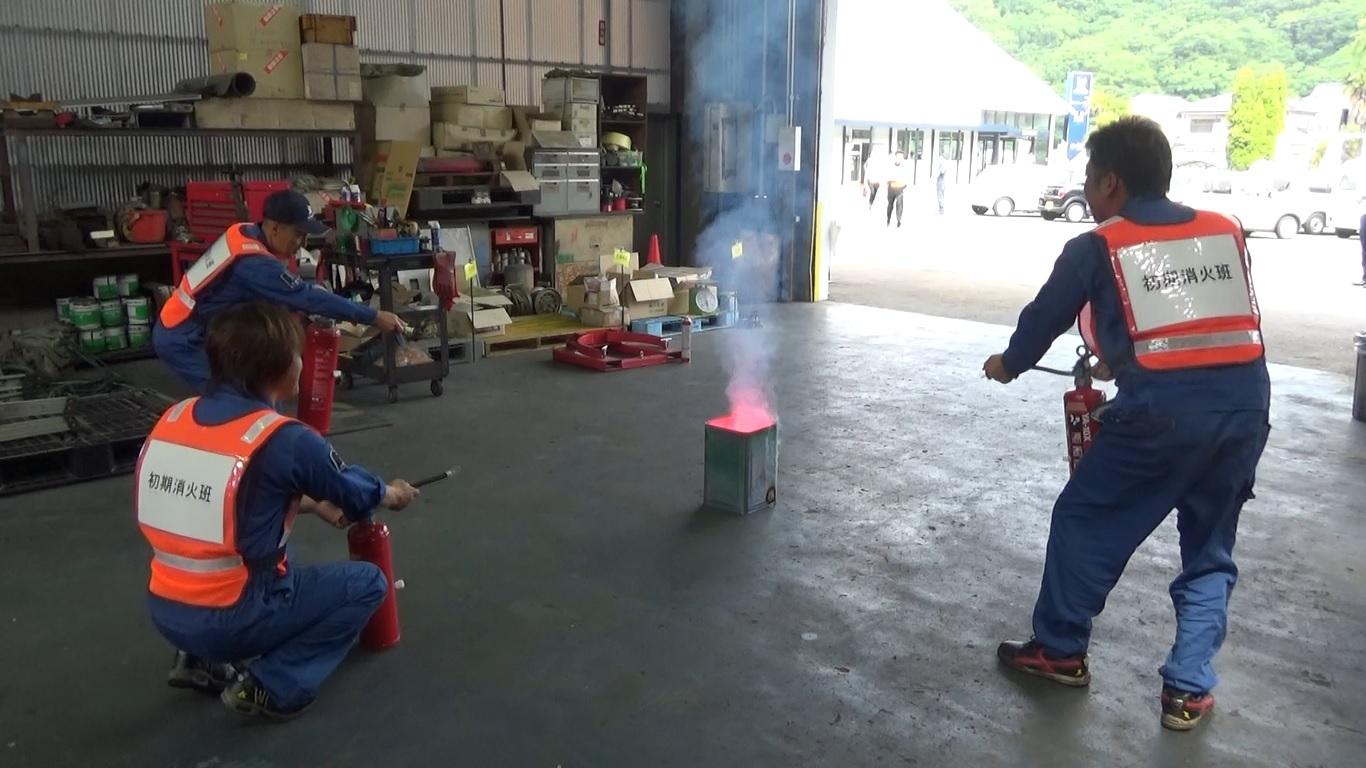 ツネイシCバリューズ 沼隈店にて消防訓練を実施