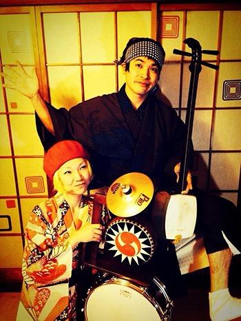 駅祭 -エキサイ- 「音楽と風景」ライブステージ 酔屋ちどり_yoiyachidoriさん