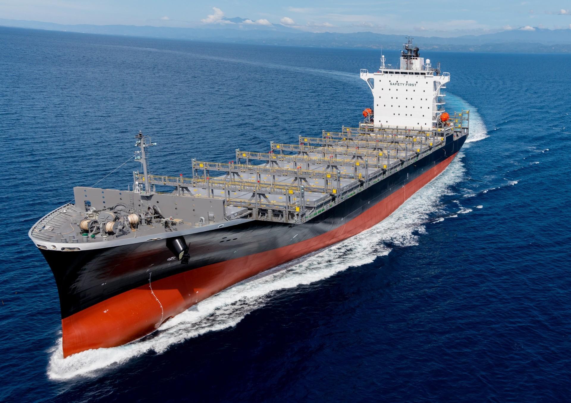 常石造船 フィリピン拠点で初建造の新船型 1,900TEU型コンテナ運搬船を引渡し ~バンコクマックスとして最大級のコンテナ積載量~