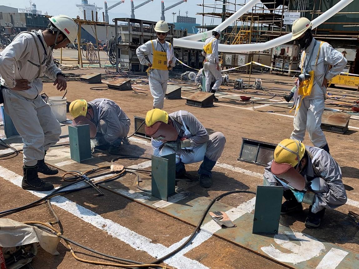 常石集団(舟山)造船 第9回技能オリンピックを開催 ~技能伝承で市場競争力を高める~