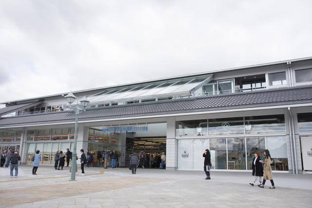 JR尾道駅1F「おのまる商店」にてオープン