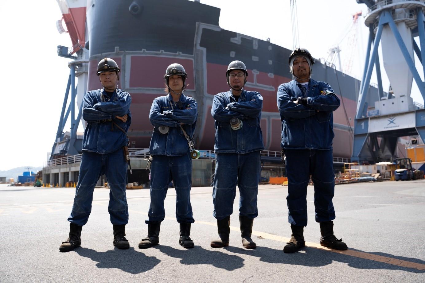 常石造船がユニフォームのリサイクルで地域活性プロジェクトに協力