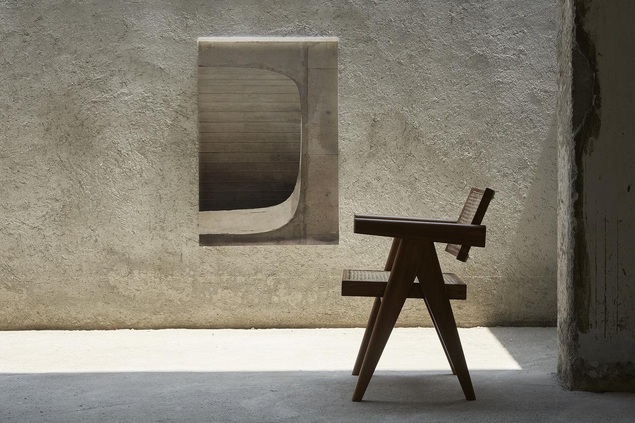 『チャンディーガル  コレクション展 -ピエール・ジャンヌレの家具再生産プロジェクト』尾道のLOGで11月14日(土)-11月23日(祝月)開催