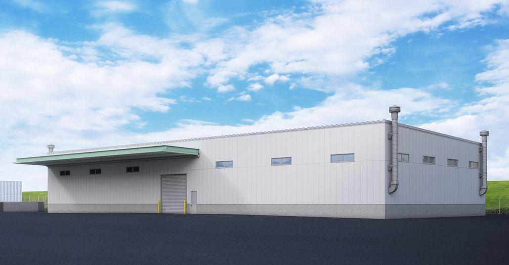 神原ロジスティクス 日陸との協調により本格的な危険物倉庫を建設