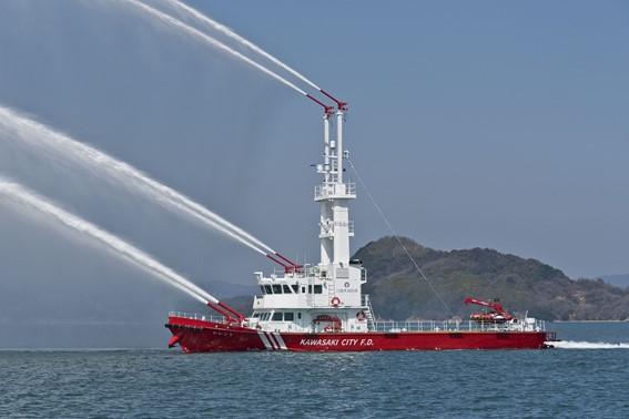 ツネイシクラフト&ファシリティーズ 消防艇「かわさき」がシップ・オブ・ザ・イヤー2020「小型船・特殊船部門賞」を受賞