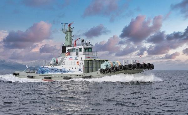 水素エンジン搭載タグボートの開発・建造について